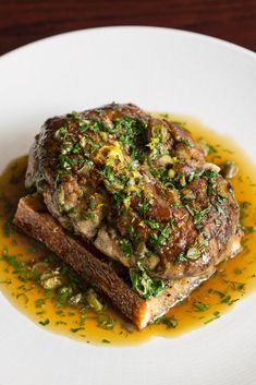 This calf brains on toast recipe from Merlin Labron-Johnson may not be for the offal novice, but for those who enjoy the wobblier things in life, this dish is a thing to behold.