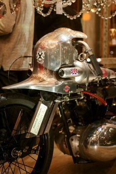 Hand beaten nose cone on Bonneville record breaking Brough Superior Night King, Darth Vader, Seasons, Classic, Vehicles, Derby, Seasons Of The Year, Car, Classic Books