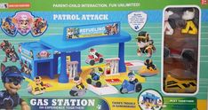 Paw Patrol – GAS STATION Kids Safety, Gas Station, Paw Patrol, Kids And Parenting, Playground, Your Child, Pup, The Incredibles, Toys