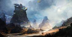 The ragged journey- Overcast by Exphrasis.deviantart.com