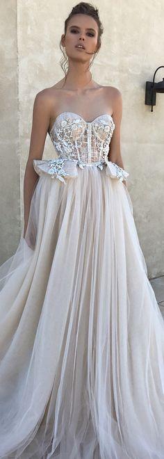 BERTA spring 2018 strapless sweetheart neckline beautiful romantic ball gown wedding dress - BERTA Spring 2018 Wedding Dresses | @bertabridal