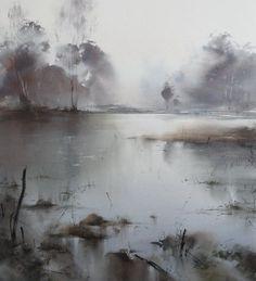 Ilya Ibryaev - Forest Lake - watercolor (5448) cm . (scheduled via http://www.tailwindapp.com?utm_source=pinterest&utm_medium=twpin&utm_content=post48040924&utm_campaign=scheduler_attribution)