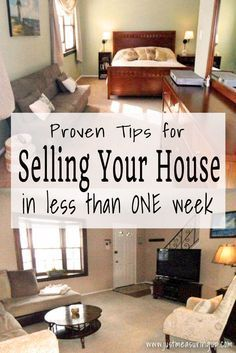 How To Quickly Sell Your House Home Hacks, Sell Home Fast, Sell House  Quickly