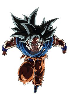 Goku Ultra Instinct (Sign) - DBS [COLOR-1] by Thanachote-Nick