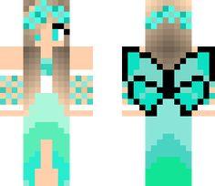 minecraft skins skin fairy kawaii layout characters cool kingdom stuff mc houses minecraftskins manicraft imagem update relacionada menina coisas imagens