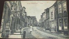 Lange Vorststraat omstreeks 1923