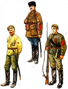 РККА (Workers-and-Peasants Red Army) Russian Revolution 1917, Bolshevik Revolution, Osprey Publishing, Civil War Art, Soviet Army, Total War, Red Army, World War I, Military History