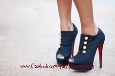 booties black louboutin