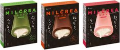 「MILCREA(ミルクレア)」がよりおいしくリニューアル!ミルクレアの美味しさを広める「赤子乳業キャンペーン」に新展開!|赤城乳業株式会社のプレスリリース Milk Cookies, Japan Design, Beverage Packaging, Package Design, Japanese Food, Yum Yum, Usb Flash Drive, Asia, Packing