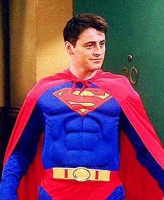 Which costume from 'F.R.I.E.N.D.S' should you be for Halloween?  I got Christmas Superman