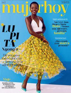 accras: Lupita Nyong'o on the cover of Mujer Hoy magazine (June Lovely! Beautiful Black Women, Beautiful People, Juan Diego Botto, Magazin Covers, Lupita Nyongo, Michael Kors, Oscar Winners, African Diaspora, Lookbook