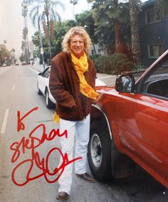 Robert Plant Aug 10, 1990. He appeared at the Pacific Amphitheater in Costa Mesa, California during his North American tour.
