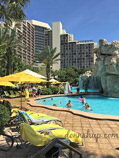 The Hyatt Regency Hotel Grand Cypress is a Vacation in Itself - The property is all inclusive with tons of amenities and perfect for families.  You never even have to leave.