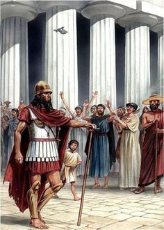 Spartan General Pausanias. Pausanias was a Spartan general of the 5th century BCE, responsible for the Greek victory over Mardonius and the Persians at the Battle of Plataea in 479 BCE, and was the leader of the Hellenic League created to resist Persian aggression during the Greco-Persian Wars.