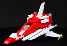 """""""Interplanetary rescue ship"""". My first spaceship ever, I suppose. Made in March, 2013. #1"""
