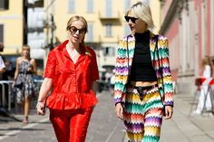 101 Incredible Street Style Snaps Straight From Milan Fashion Week   StyleCaster