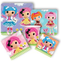 Lalaloopsy Party Supplies | Party Packs starting at $24.99 | http://www.discountpartysupplies.com/girl-party-supplies/lalaloopsy-party-supplies