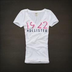 Hollister Clothing Womens T-shirts WT46