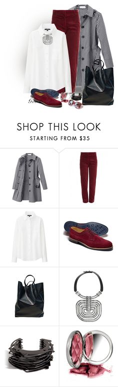 """""""Без названия #443"""" by trendstar-212 ❤ liked on Polyvore featuring Mackintosh Philosophy, Backstage, Uniqlo, CÉLINE, Lanvin, Lynn Ban and By Terry"""