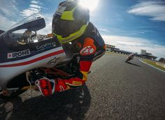 #birmingham Jerez Test triggers tenth season Rookies Cup excitement  Three days of preseason testing at Jerez ignited the tenth year of the Red Bull MotoGP Rookies Cup. Though the final day was cold, wet and miserable the earlier beautiful sunshine saw the 24 identical KTMs propelling their teens towards Grand Prix careers. http://superbike-news.co.uk/wordpress/Motorcycle-News/jerez-test-triggers-tenth-season-rookies-cup-excitement/