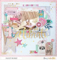 Making A Bridal Shower Scrapbook – Scrapbooking Fun! Birthday Scrapbook, Baby Scrapbook, Scrapbook Paper Crafts, Scrapbook Supplies, Scrapbook Cards, Scrapbook Sketches, Scrapbook Page Layouts, Photo Layouts, Bridal Shower Scrapbook