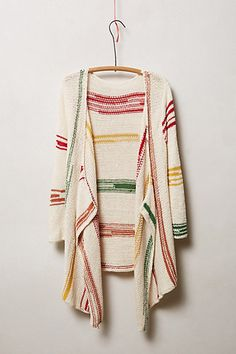 Rhumerie Cardigan #anthrofav #greigedesign  I like the color changes