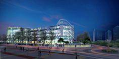 Hotel & Shopping Mall - Futuristic Concept . Palu City ,Central Sulawesi - Indonesia