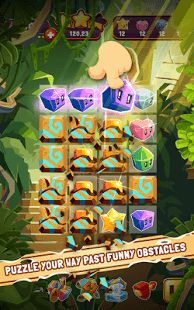 Download The Best Match3 Puzzle Adventure of 2015! It's free!