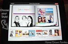 shutterfly, app, iPad, photobook