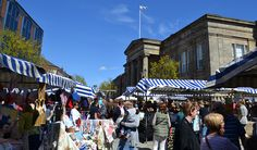 Treacle Market is one of the largest artisan markets in the North West, held on the historic cobbles of Macclesfield Marketplace on the last Sunday of the month