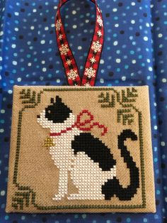 gives me an idea for a cross stitch for Jason. one of Boozer.This gives me an idea for a cross stitch for Jason. one of Boozer. Cross Stitch Christmas Ornaments, Xmas Cross Stitch, Cross Stitch Cards, Cross Stitch Animals, Christmas Embroidery, Christmas Cross, Cat Cross Stitches, Cross Stitching, Cross Stitch Embroidery