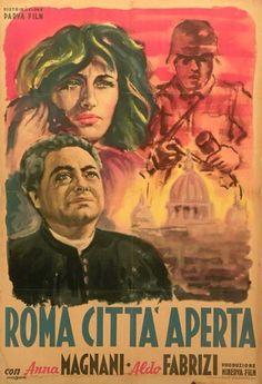 Poster 70x100_Roma città aperta (1945) by Roberto Rossellini