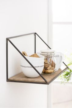 From beautiful bookshelves to stylish seating and wooden shelves, our Scandinavian luxury furniture collection is full of simple yet striking designs. Hanging Storage Shelves, Wooden Shelves, Wall Shelves, Shelving, Nordic Furniture, Scandinavian Furniture, Danish Furniture, Frame Shelf, Cool Ideas
