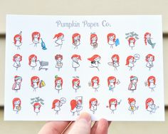 Mini Terras, planner stickers for use with erin condren planners, decorative planner stickers, activities, 32 functional stickers, PPC99 by PumpkinPaperCo on Etsy https://www.etsy.com/au/listing/270292939/mini-terras-planner-stickers-for-use