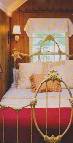 Beautiful #antique_bed frame <3