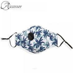 Tree Flower Print Face Mask  Price: 27.99 & FREE Shipping