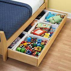 Quarto das crianças: Como aproveitar o espaço embaixo da cama! - Just Real Moms - Blog para Mães
