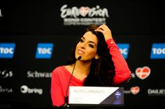 The official website of the Eurovision Song Contest, with the latest news, photos, videos and info about the participants, the upcoming shows and its history. Ruth Lorenzo, Eurovision 2014, Dancing In The Rain, Conference, Spain, Singer, Sevilla Spain, Singers