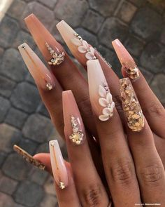 Want some ideas for wedding nail polish designs? This article is a collection of our favorite nail polish designs for your special day. Summer Acrylic Nails, Best Acrylic Nails, Gel Nail Art, Acrylic Nail Designs, Bright Acrylic Nails, 3d Nail Designs, Gel Nails At Home, Perfect Nails, Gorgeous Nails