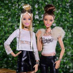 2,058 отметок «Нравится», 20 комментариев — Look Style Dolls™ (@lookstyledolls) в Instagram: «Barbie & Teresa »