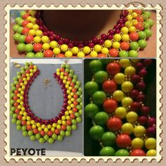 Collar de verano. Espectacular!! Vistoso!!!