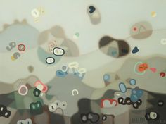 Adrift - Elohim Sanchez - Oil on canvas - 30″ x 36″ - Year: 2014