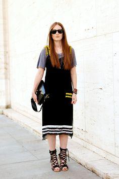 New ways to wear your slip dress -- today on chicityfashion.com