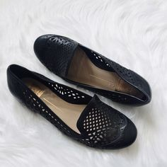 """HP Dolce Vita Cut-Out Loafers  HP 4/28/2016 """"Total Trend Setter"""" Party    Cut-out loafers that are super adorable for warm weather. Still in very nice condition. Small scuff mark shown above.  Pet friendly home Feel free to ask any questions! Bundle 2+ items for additional 10% off Dolce Vita Shoes Flats & Loafers"""