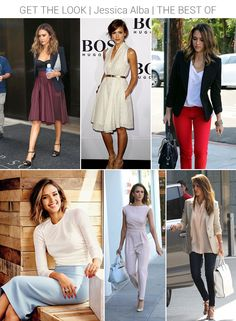 Jessica Alba (Soft Classic) - best looks | Crystal Ethereal and French Ethereal