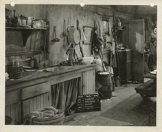 Ma and Pa Kettle - Kitchen
