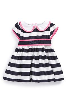 Dorissa Nautical Stripe Party Dress (Baby Girls) | Nordstrom