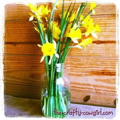 Flowers in a Mason Jar: A Southern Staple