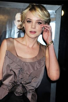 Carey Mulligan  In 2008, she made her Broadway debut in the revival of Chekhov's The Seagull to critical acclaim