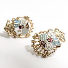 A personal favorite from my Etsy shop https://www.etsy.com/listing/258568368/vintage-coro-screw-back-earrings-shield